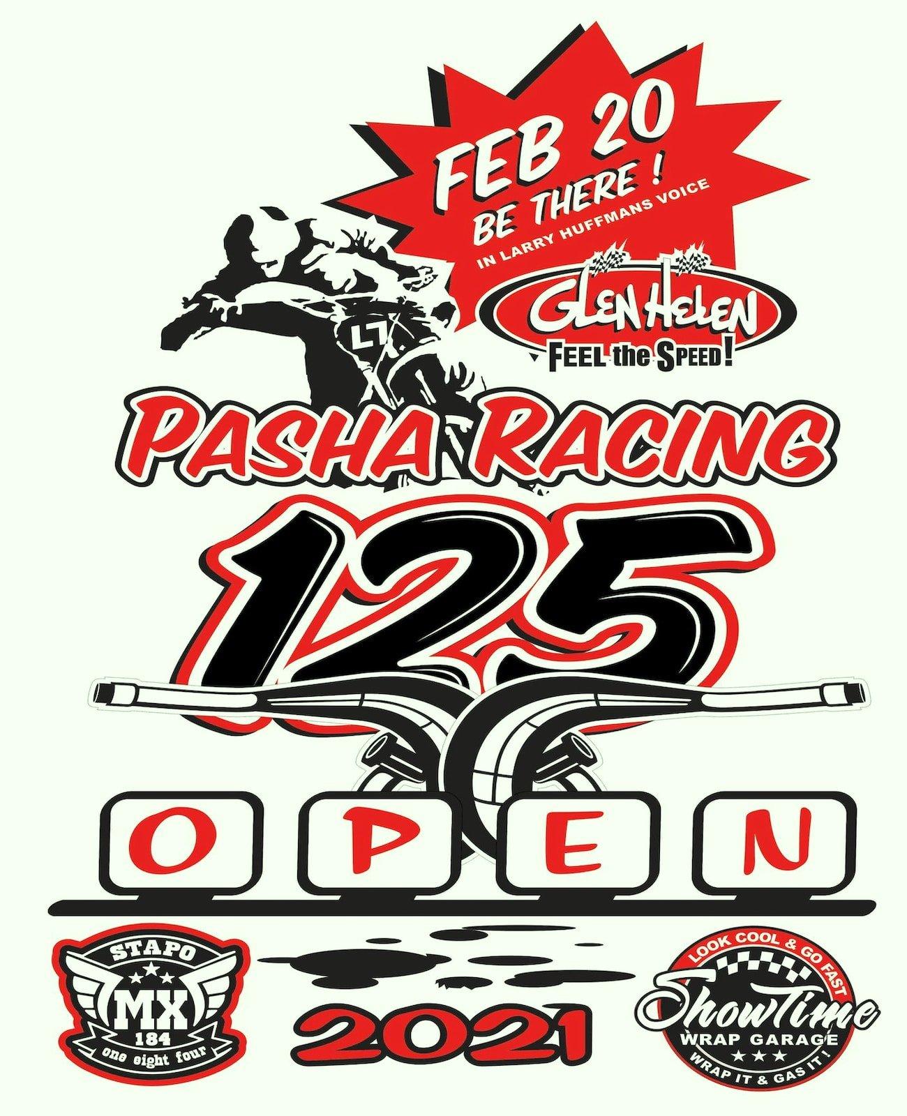 Pasha 125 Open Feb 20 Banner